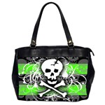 Deathrock Skull Oversize Office Handbag (2 Sides)