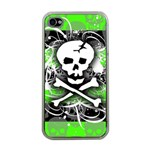 Deathrock Skull iPhone 4 Case (Clear)