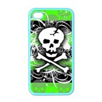 Deathrock Skull iPhone 4 Case (Color)