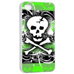 Deathrock Skull iPhone 4/4s Seamless Case (White)