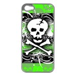 Deathrock Skull iPhone 5 Case (Silver)