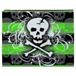 Deathrock Skull Cosmetic Bag (XXXL)