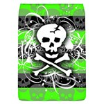 Deathrock Skull Removable Flap Cover (L)