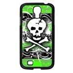 Deathrock Skull Samsung Galaxy S4 I9500/ I9505 Case (Black)