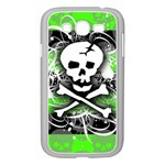 Deathrock Skull Samsung Galaxy Grand DUOS I9082 Case (White)