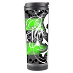 Deathrock Skull Travel Tumbler