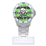 Deathrock Skull Plastic Nurses Watch