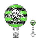 Deathrock Skull Stainless Steel Nurses Watch
