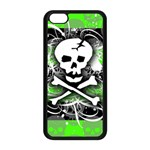 Deathrock Skull iPhone 5C Seamless Case (Black)