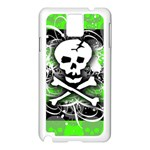 Deathrock Skull Samsung Galaxy Note 3 N9005 Case (White)