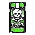 Deathrock Skull Samsung Galaxy Note 3 N9005 Case (Black)