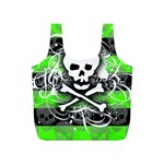 Deathrock Skull Full Print Recycle Bag (S)