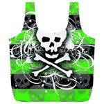 Deathrock Skull Full Print Recycle Bag (XL)
