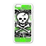Deathrock Skull iPhone 6/6S White Enamel Case