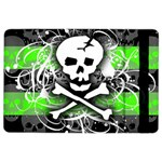 Deathrock Skull Apple iPad Air 2 Flip Case