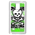 Deathrock Skull Samsung Galaxy Note 4 Case (White)