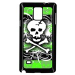 Deathrock Skull Samsung Galaxy Note 4 Case (Black)