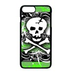 Deathrock Skull iPhone 7 Plus Seamless Case (Black)