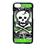 Deathrock Skull iPhone 7 Seamless Case (Black)