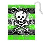 Deathrock Skull Drawstring Pouch (XXXL)