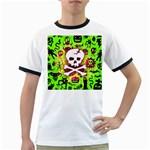 Deathrock Skull & Crossbones Ringer T