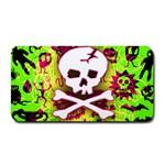 Deathrock Skull & Crossbones Medium Bar Mat