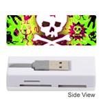 Deathrock Skull & Crossbones Memory Card Reader (Stick)