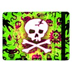 Deathrock Skull & Crossbones Samsung Galaxy Tab Pro 12.2  Flip Case