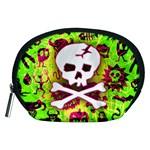Deathrock Skull & Crossbones Accessory Pouch (Medium)