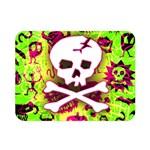 Deathrock Skull & Crossbones Double Sided Flano Blanket (Mini)