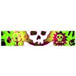 Deathrock Skull & Crossbones Small Flano Scarf