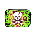 Deathrock Skull & Crossbones Apple MacBook Pro 15  Zipper Case