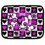 Emo Scene Girl Skull Netbook Case (Large)