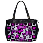 Emo Scene Girl Skull Oversize Office Handbag