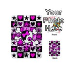 Emo Scene Girl Skull Playing Cards 54 Designs (Mini)