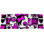 Emo Scene Girl Skull Body Pillow Case Dakimakura (Two Sides)