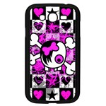 Emo Scene Girl Skull Samsung Galaxy Grand DUOS I9082 Case (Black)