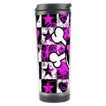 Emo Scene Girl Skull Travel Tumbler
