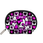 Emo Scene Girl Skull Accessory Pouch (Small)