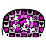 Emo Scene Girl Skull Accessory Pouch (Large)