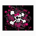 Girly Skull & Crossbones Small Glasses Cloth