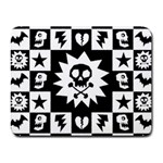 Gothic Punk Skull Small Mousepad