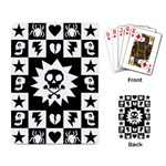Gothic Punk Skull Playing Cards Single Design (Rectangle)