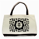 Gothic Punk Skull Basic Tote Bag