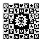 Gothic Punk Skull Face Towel