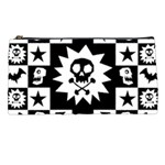 Gothic Punk Skull Pencil Case