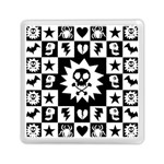 Gothic Punk Skull Memory Card Reader (Square)