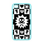 Gothic Punk Skull iPhone 4 Case (Color)