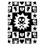 Gothic Punk Skull Removable Flap Cover (S)