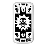 Gothic Punk Skull Samsung Galaxy S3 Back Case (White)